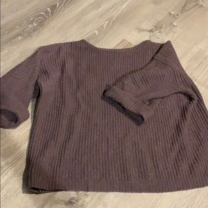 J. crew crop sweater